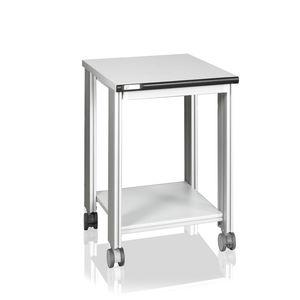 laboratory cart / shelf / with swivel casters