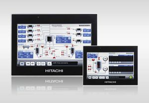 HMI with touch screen