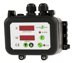 pneumatic valve positioner / rotary / digital / compact