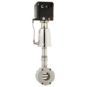 piston actuator valve / electropneumatic / pneumatically-operated / shut-off