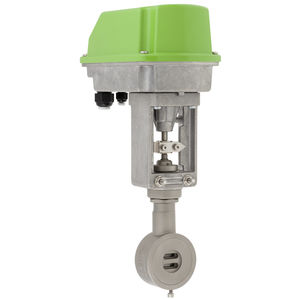 sliding gate valve / electrically-operated / shut-off / regulating