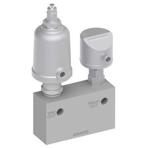 dry-running protection valve