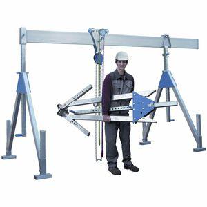 workshop gantry crane / aluminum / single-girder