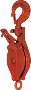 rotating snatch block / for cables