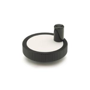 control handwheel / solid / aluminum
