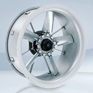 axial fan / cooling / EC / medium-pressure