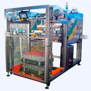 semi-automatic tray packer