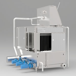 water chiller / glycol water / for fruits and vegetables / stainless steel