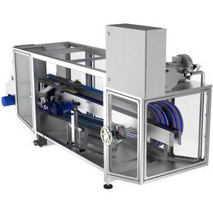 air rinsing-blowing machine