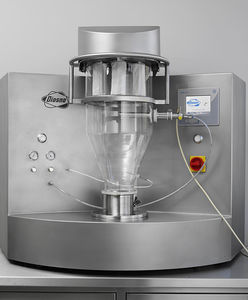 fluidized bed mini dryer / batch / laboratory / for the pharmaceutical industry