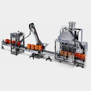 viscous product filler / for liquids / jug / automatic