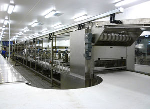 belt conveyor / for the food industry / dough / automatic