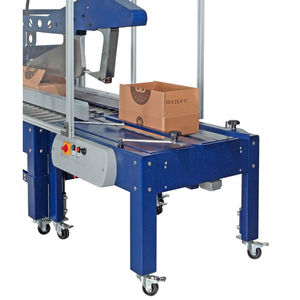 belt feeder / continuous / packaging machine / for packaging lines