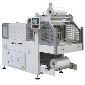 shrink wrapper with sealing bar / semi-automatic / alcoholic beverage / for PET bottles