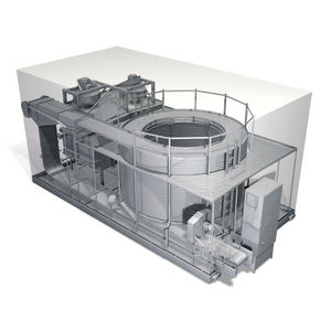 process freezer / for food applications / spiral