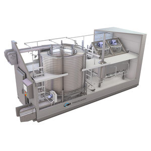 spiral freezer / process / for food applications / industrial