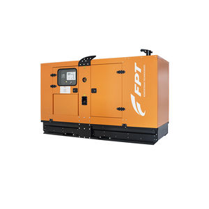 soundproofed generator set / three-phase / diesel / stationary