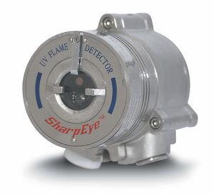 hydrogen flame detector