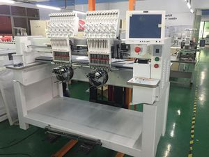2 head embroidery machine / high-speed / computerized / 12 needles