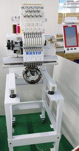 single-head embroidery machine / CNC / flat / for T-shirts
