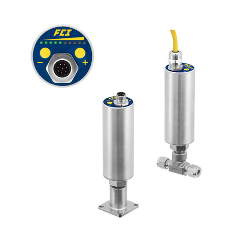 thermal dispersion flow switch / for liquids / for gas / 4-20 mA