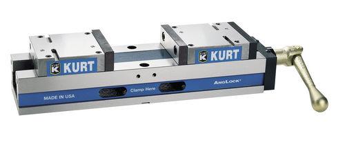 machine tool vise / manual / low-profile / self-centering