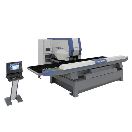 CNC punching machine / servo-electric / for sheet metal / forming