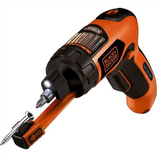 Cordless electric screwdriver - AS36LN - Black & Decker - pistol / with  torque control / battery-powered