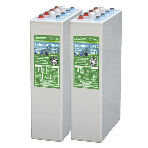 OPzV gel battery / VRLA / deep cycle / CE