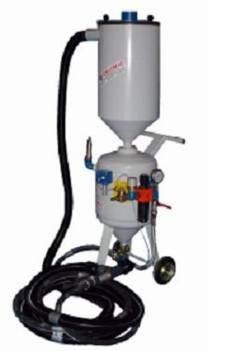 suction sandblasting machine / manual / mobile