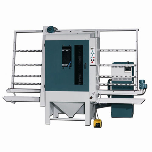 suction blast cabinet / automatic