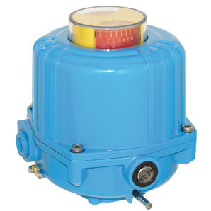 electric valve actuator / 90° / compact / butterfly