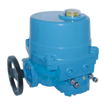 electric valve actuator / 90° / butterfly / with handwheel