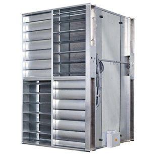 air/air heat exchanger / aluminum / high-performance