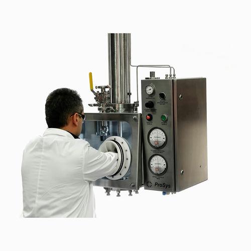 powder sampler / fixed-volume / vacuum