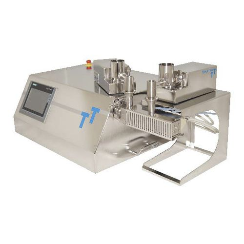 parallel twin-screw extruder / compounding / for hot-melt / compact