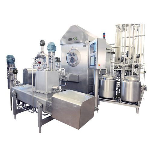 butter production machine / automated / continuous