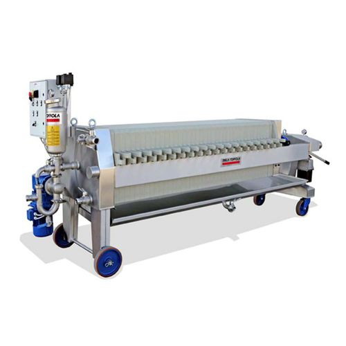 plate and frame filter press / automatic / mobile / for wine