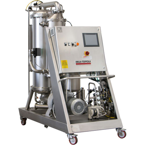 liquid food products and beverage filter / membrane / mobile / cross flow
