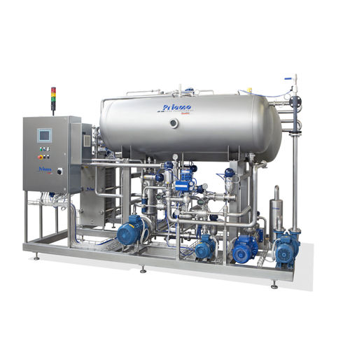 beverage carbonation mixing unit