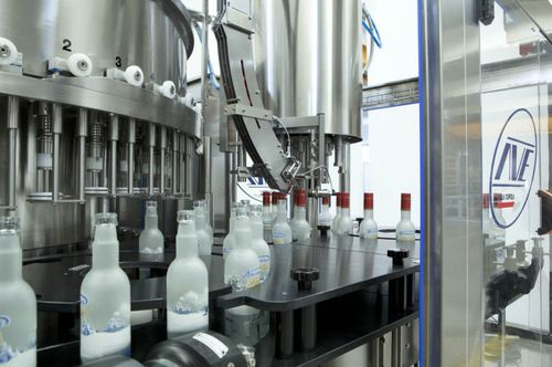 beverage filling system / container / automatic / pneumatic