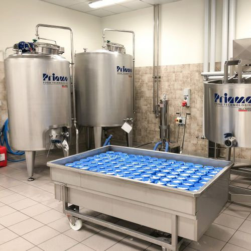 milk production plant / cheese