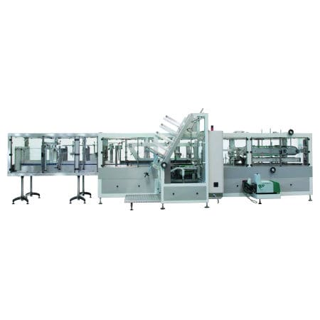 automatic case former-sealer / hot-melt glue / adhesive tape