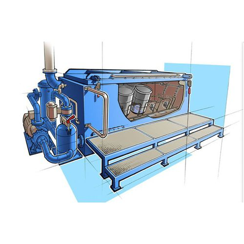 robust cleaning machine / solvent / automatic / process
