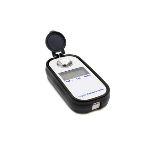 digital refractometer / portable / salinity