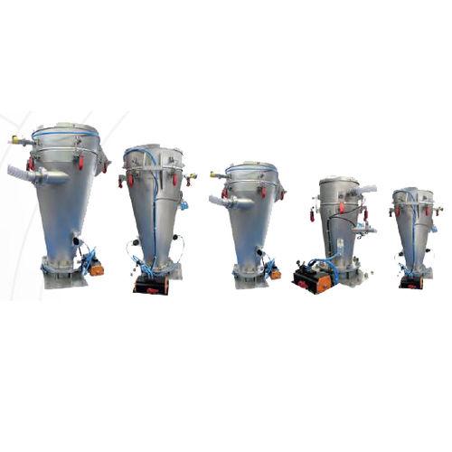 dense phase pneumatic conveying system / powder / cyclone