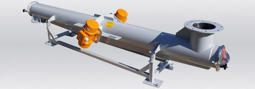 vibrating conveyor / for bulk materials / inclined / handling