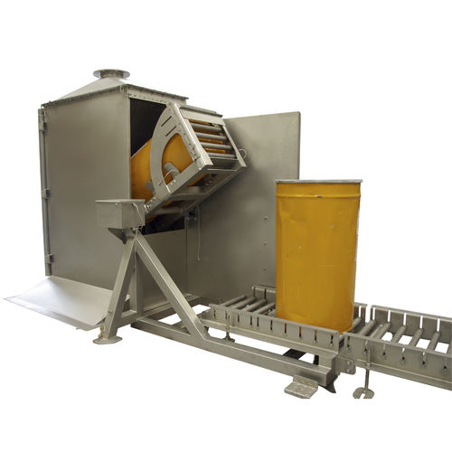 drum emptying system