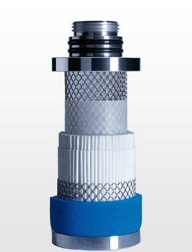 compressed air filter / activated carbon / particulate