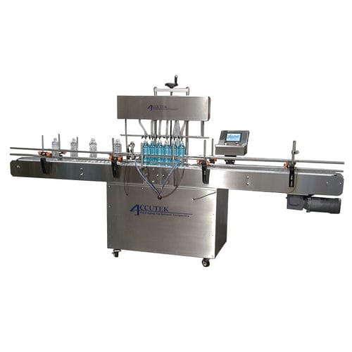 filling machine for the pharmaceutical industry / for the cosmetics industry / for food products / water